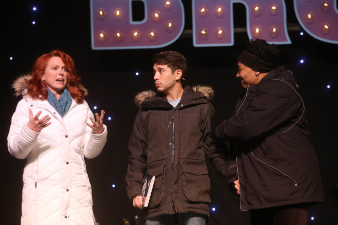 Carolee Carmello, Sam Tanabe, & Fredi Walker Browne
