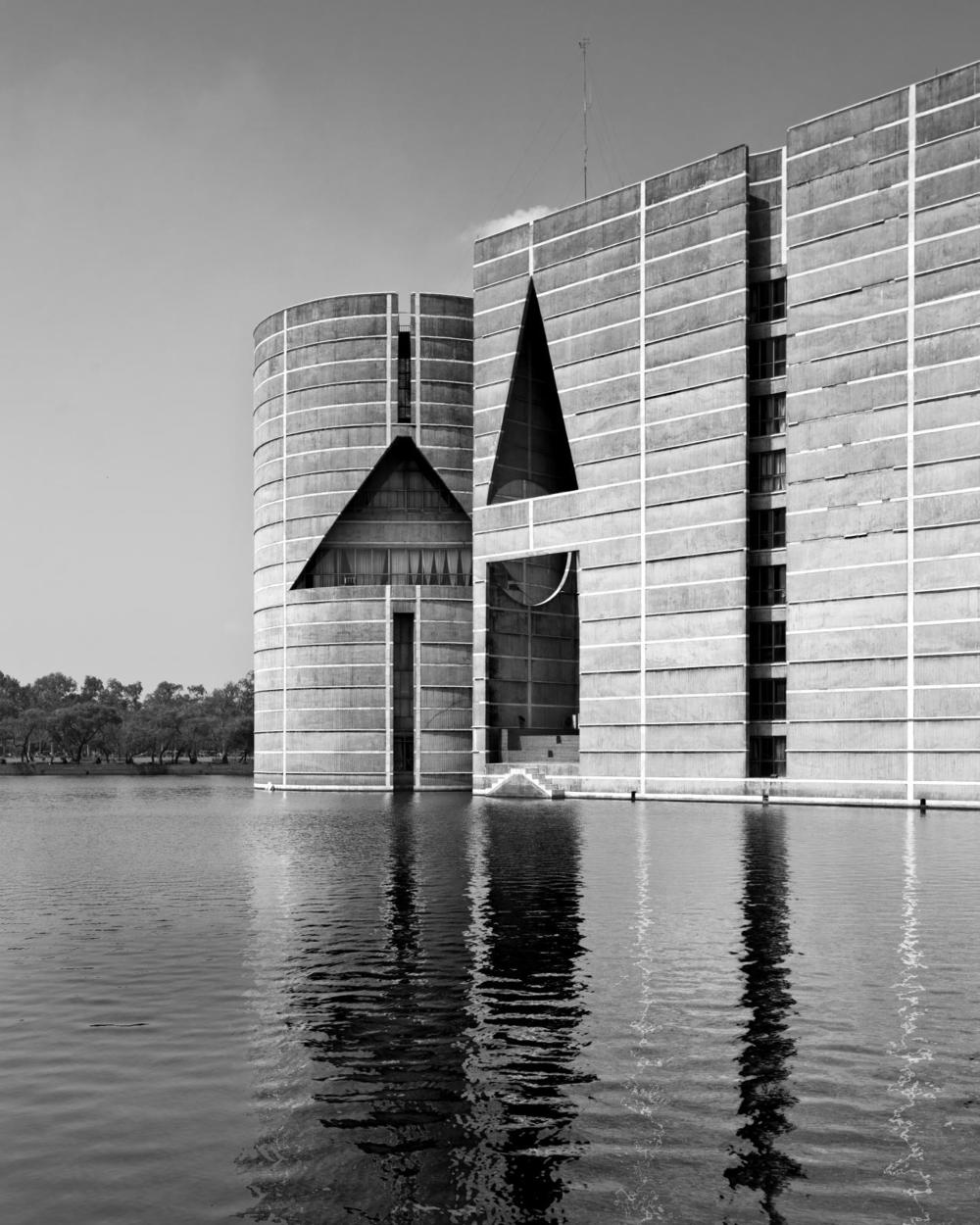 National Assembly Building in Dhaka, Bangladesh. Image © Naquib Hossain.
