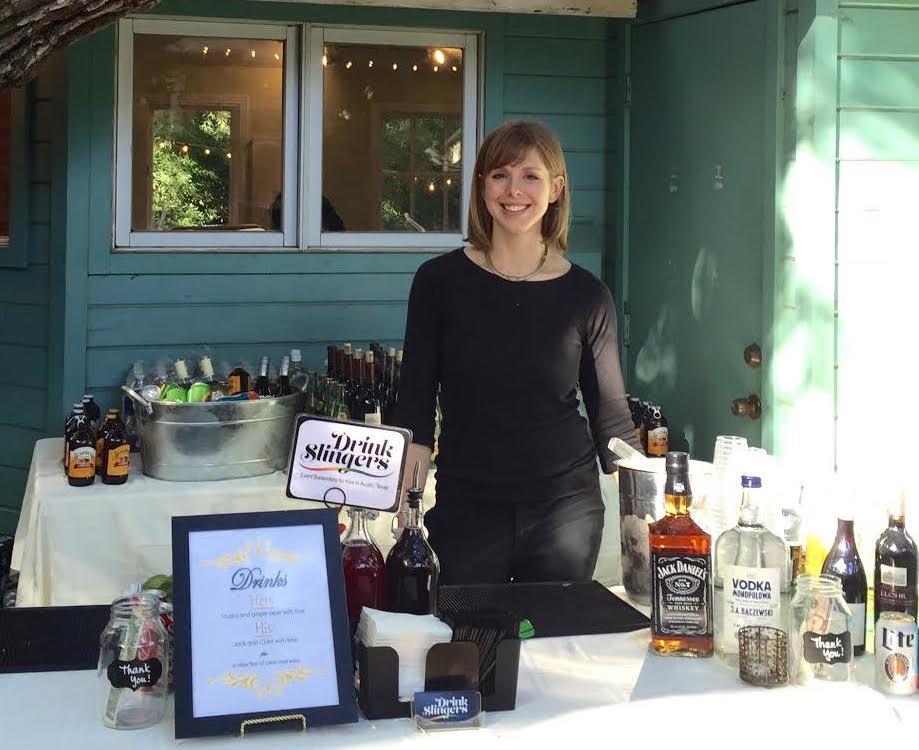 Drink Slingers AustinEvent Bartender Maggie