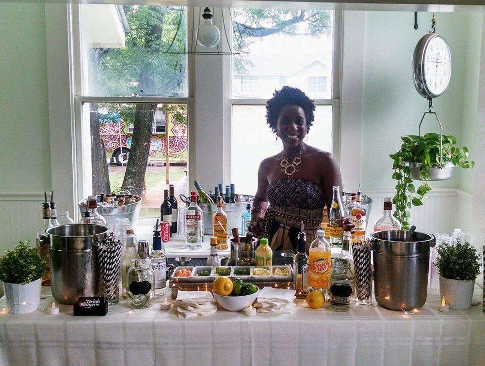 Drink Slingers Austin Event Bartender Crystal