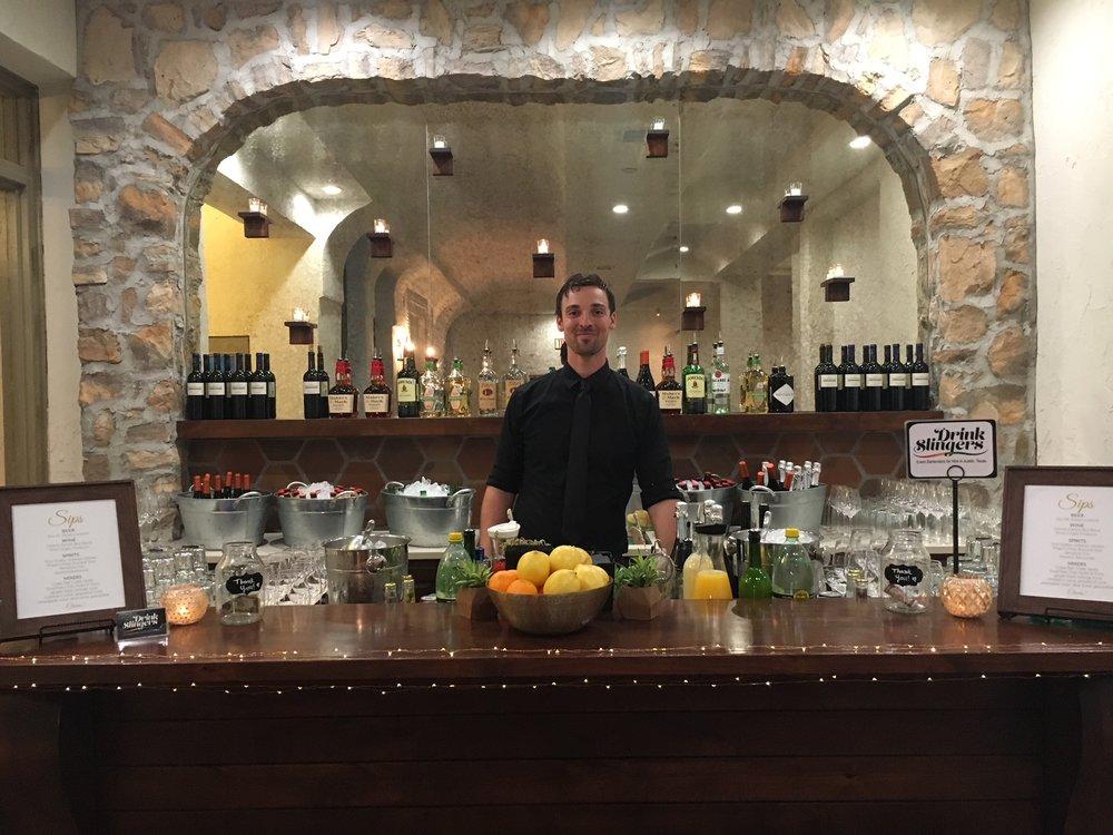 Drink Slingers Austin Event Bartender Liam