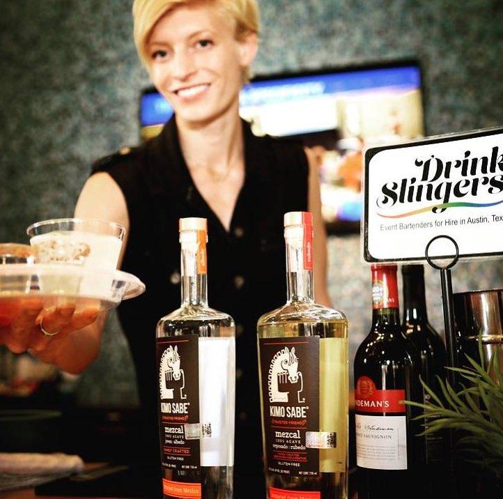 Drink Slingers Austin Event Bartender Rose