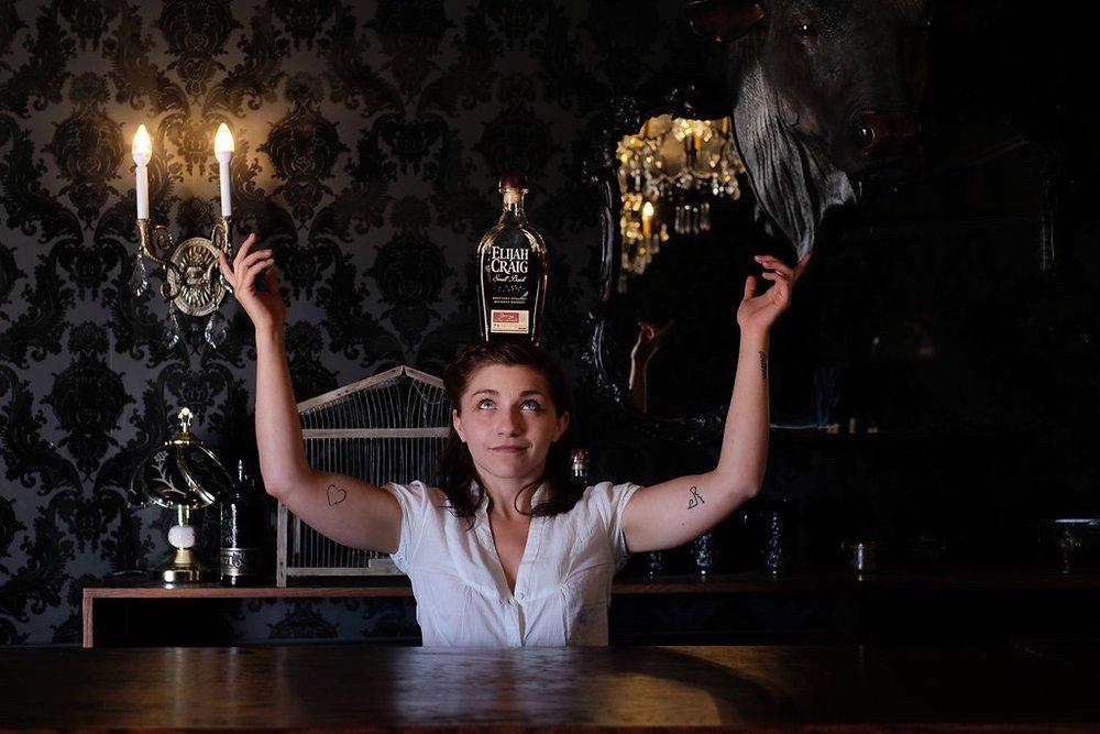 Drink Slingers Flare Bartender Iffy at Westworld