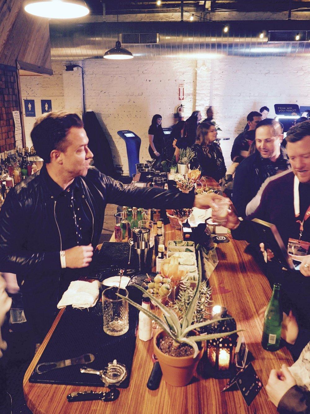 Drink Slingers Event Bartender Justin