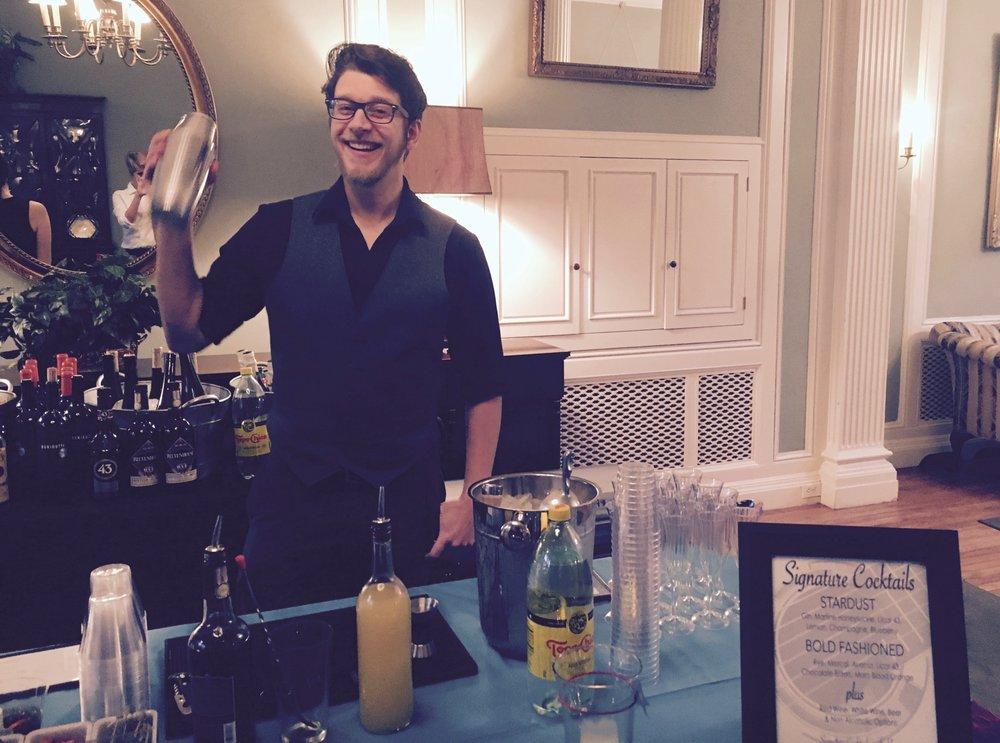 Drink Slingers Event Bartender Brian
