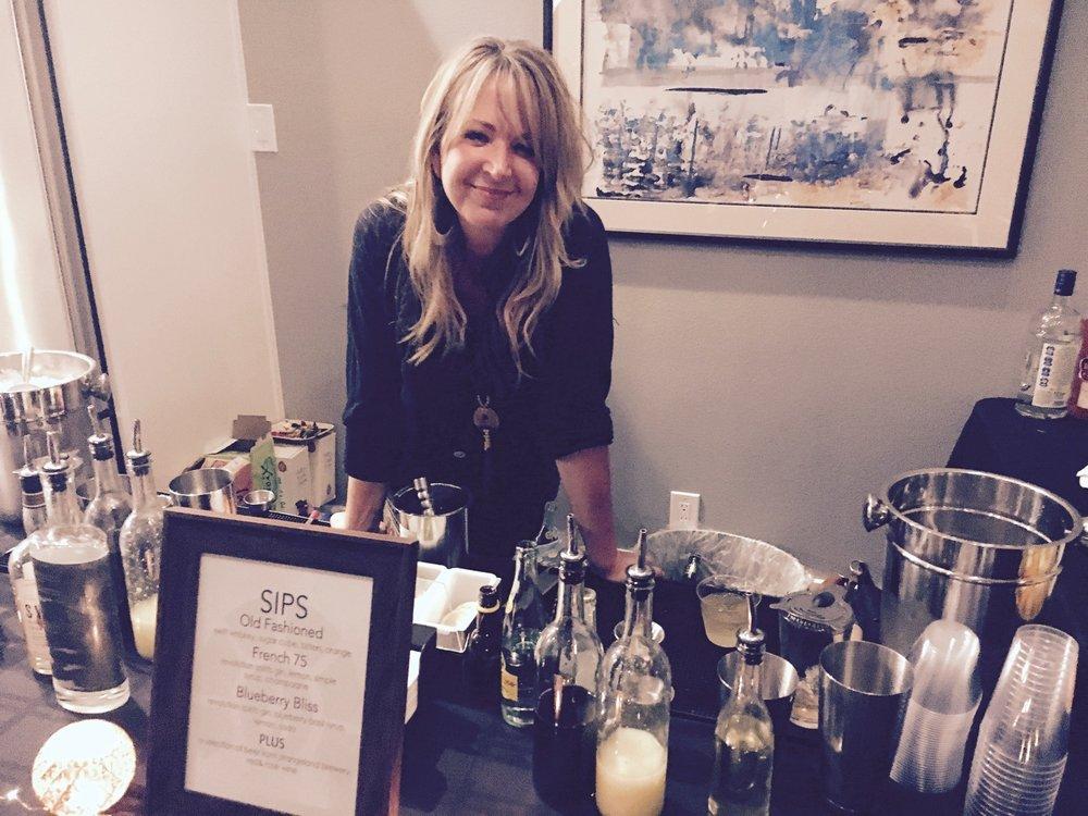 Drink Slingers Event Bartender Sadie