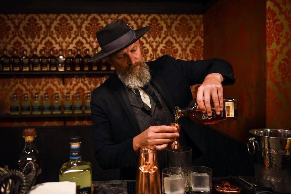 Brad Walton at Drink Slingers Westworld