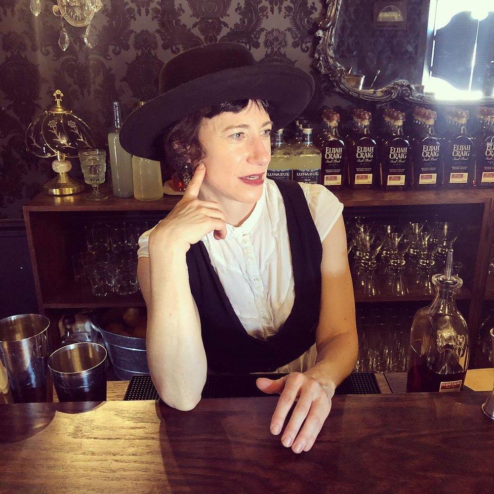 Drink Slingers Wendy Corn at Westworld