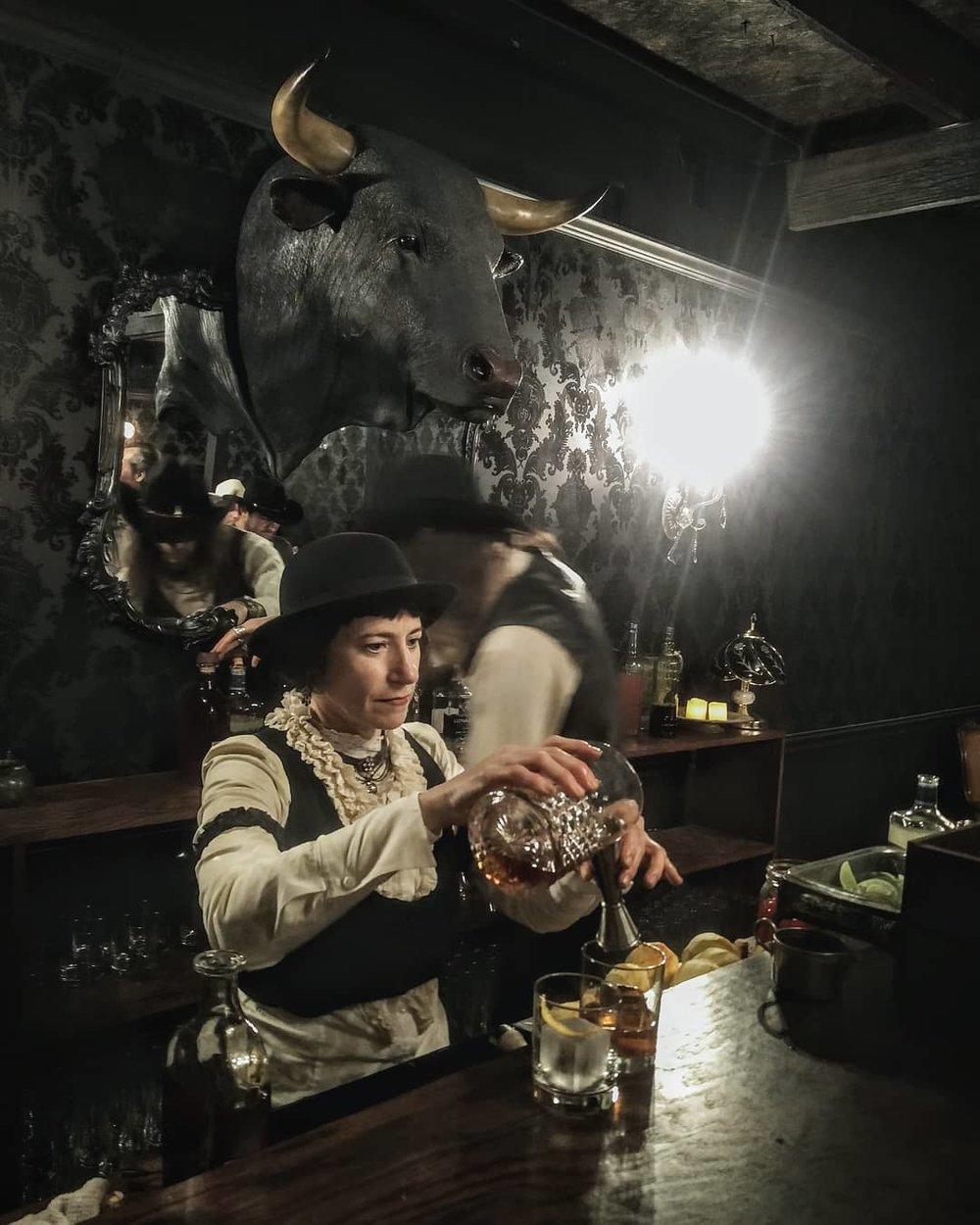 Drink Slinger Wendy at Westworld