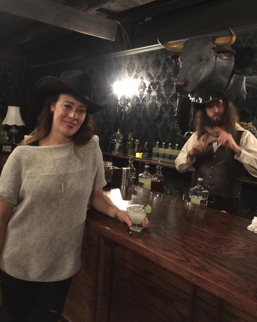 Drink Slingers Aryn Black at Westworld