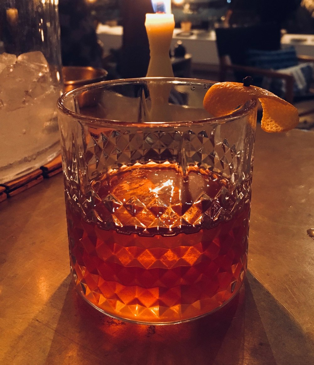 Drink Slingers Old Fashioned, Texas Style