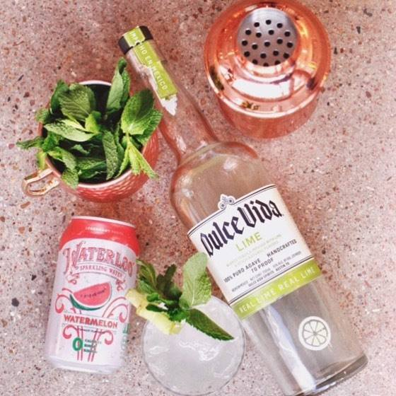 Waterloo Watermelon and Dulce Vida Tequila by Drink Slingers