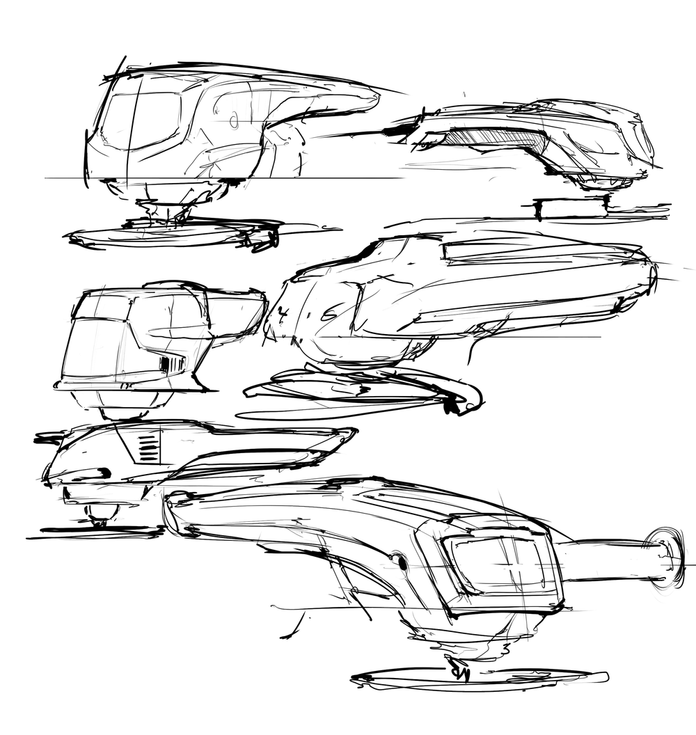 Some very quick angle grinder concepts done in Photoshop ~20 minutes
