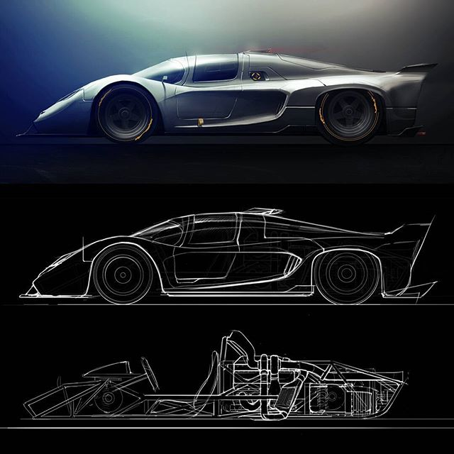 What if lamborghini raced lemans in the 70s? Fun one this time, still a lot of things wrong and I'm probably subconsciously taking styling cues from other things, but would love to hear what you think!  #designsketching #carsketching #autodesk #sketchbookpro #adobe #photoshop #wacom #transportationdesign #industrialdesign #cardesign #lemans #porsche917 #lamborghini #70s #racecar