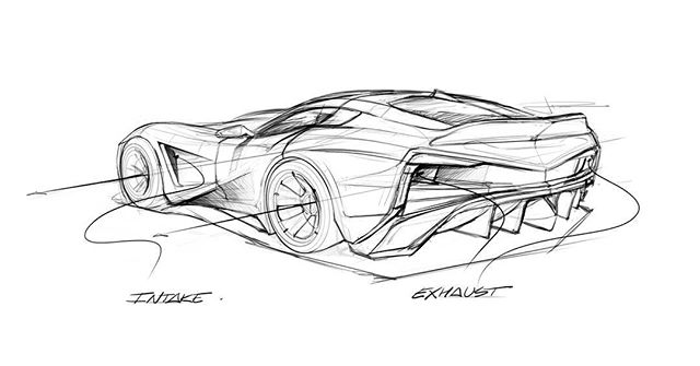 Another quick one! Some sort of future Corvette concept, would love some feedback!  Happy Friday 👍  #autodesk #sketchbookpro #wacom #art #artwork #drawing #sketch #design #cardrawing #carart #carsketch #cardesign #stanced #digitalart #asu #idsketching #carsofinstagram #cargram #drawtodrive #caroftheday #drawsomething #sketchbook #sketchoftheday #drawingoftheday #corvette #chevy #c7 #c8 #conceptcar