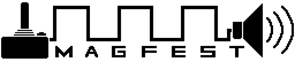MAGFest logo;pixel rendition.