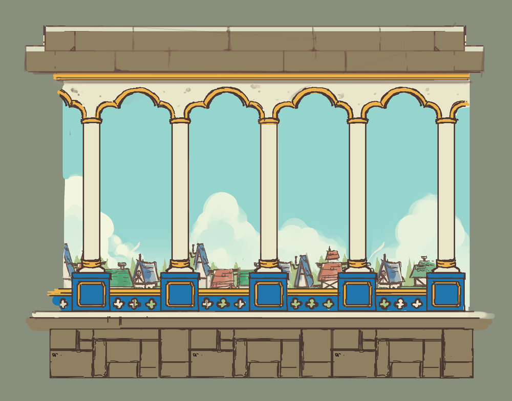 Concepts for tiles from a 2D platformer