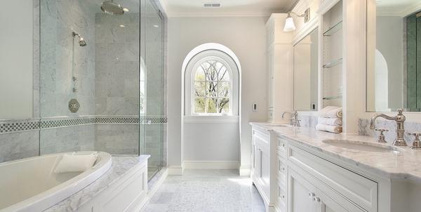 Luxury Master Bathroom Designs White Bathroom Ideas Walk