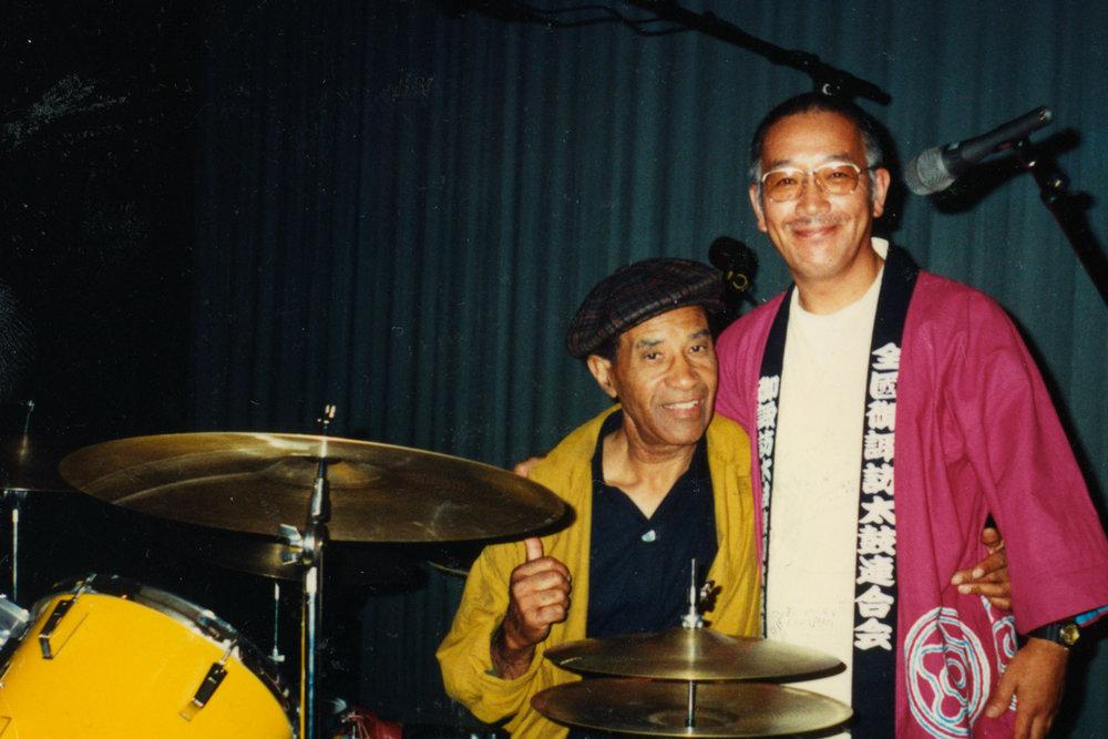 Legendary Jazz Drummer late Max Roach, 1990s