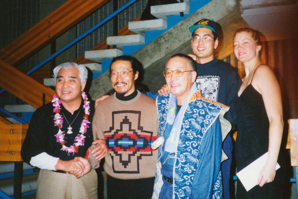 Late Grandmaster Daihachi Oguchi, KITARO, 1993