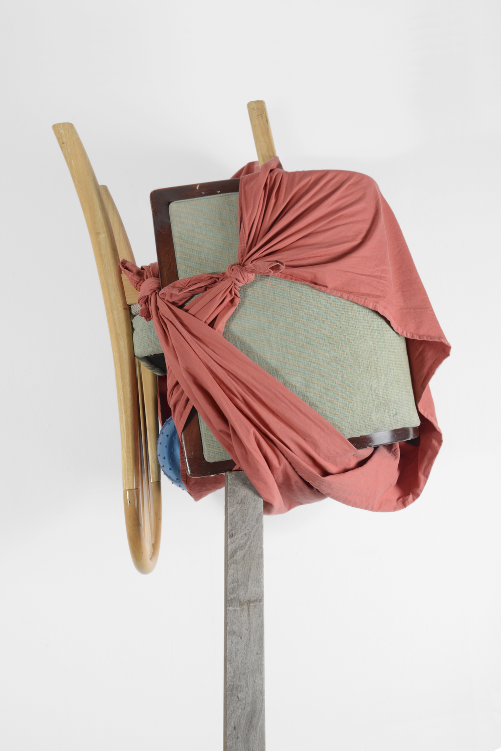This May Fall (red bindle)- detail