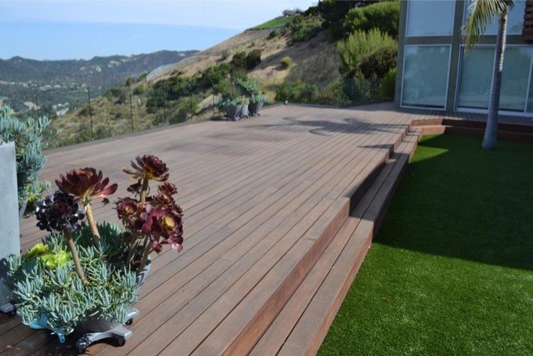 12. Ipe Deck Restoration - Pacific Palisades,Ca 90272