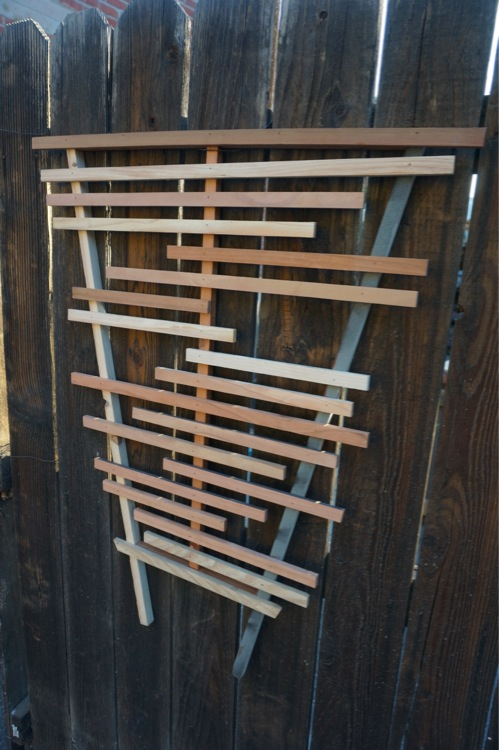 Wood trellis santa monica los angeles trellises for Where to buy reclaimed wood los angeles