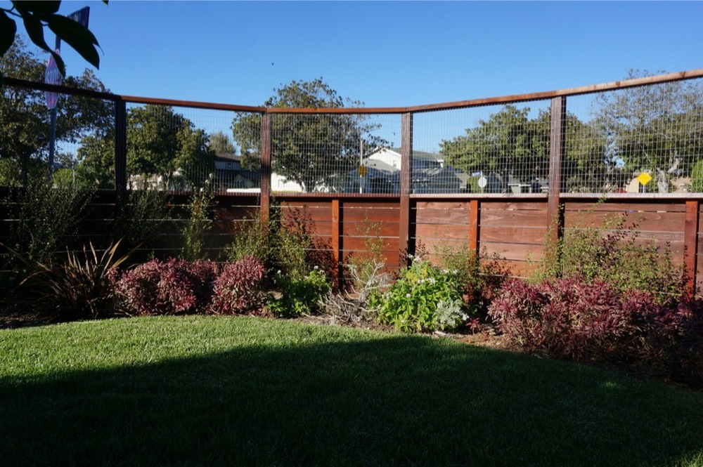 Wire mesh cable fencing — harwell design fences
