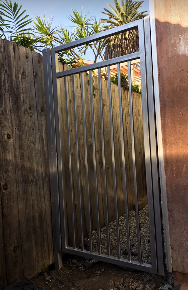 Iron Gate - Steel Tubing - Venice, Ca