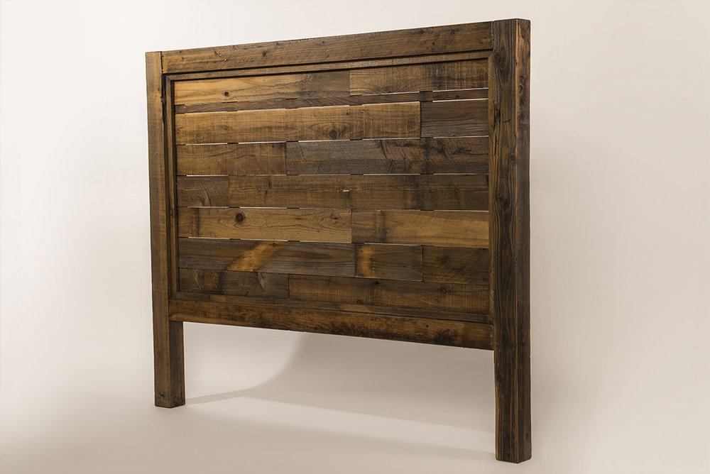 Reclaimedwood Headboard   Bed