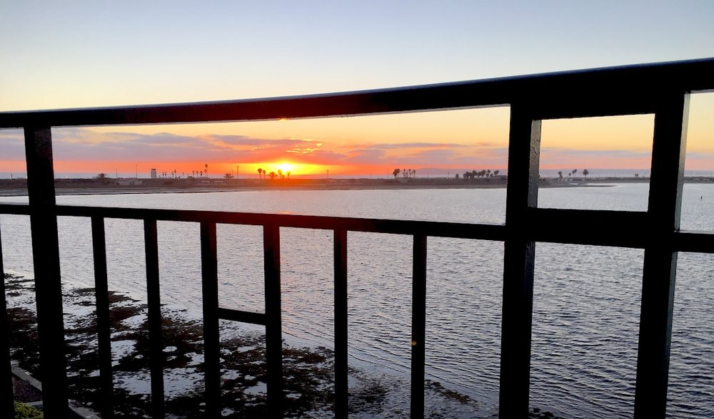 Steel Fence - Sunset - 90403.jpg