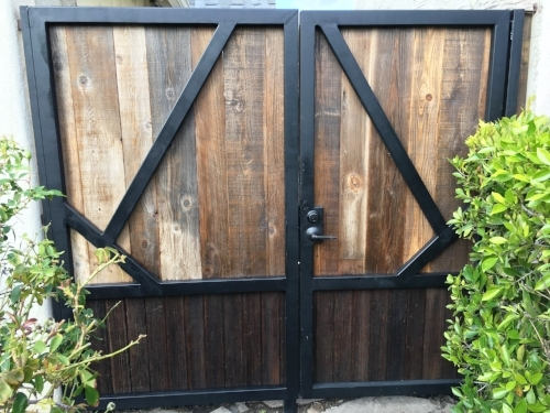 Gates - Reclaimed wood los angeles