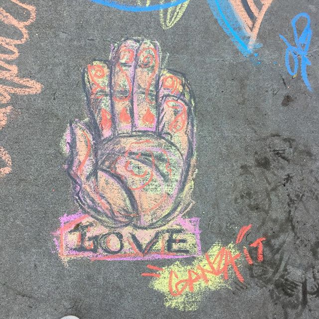 #GanzaStreetArt. #GanzaArt chillin at the #relove festival...had to leave my mark.