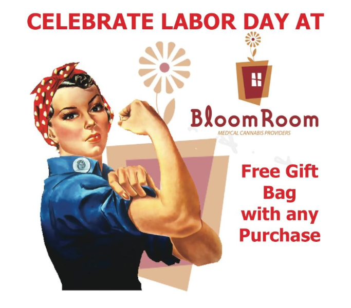 Bloom Room SF Labor Day Specials 2013