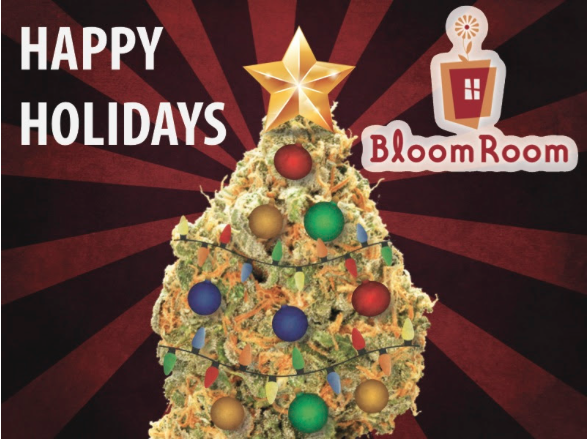 Bloom Room SF Holiday Party Dec 19