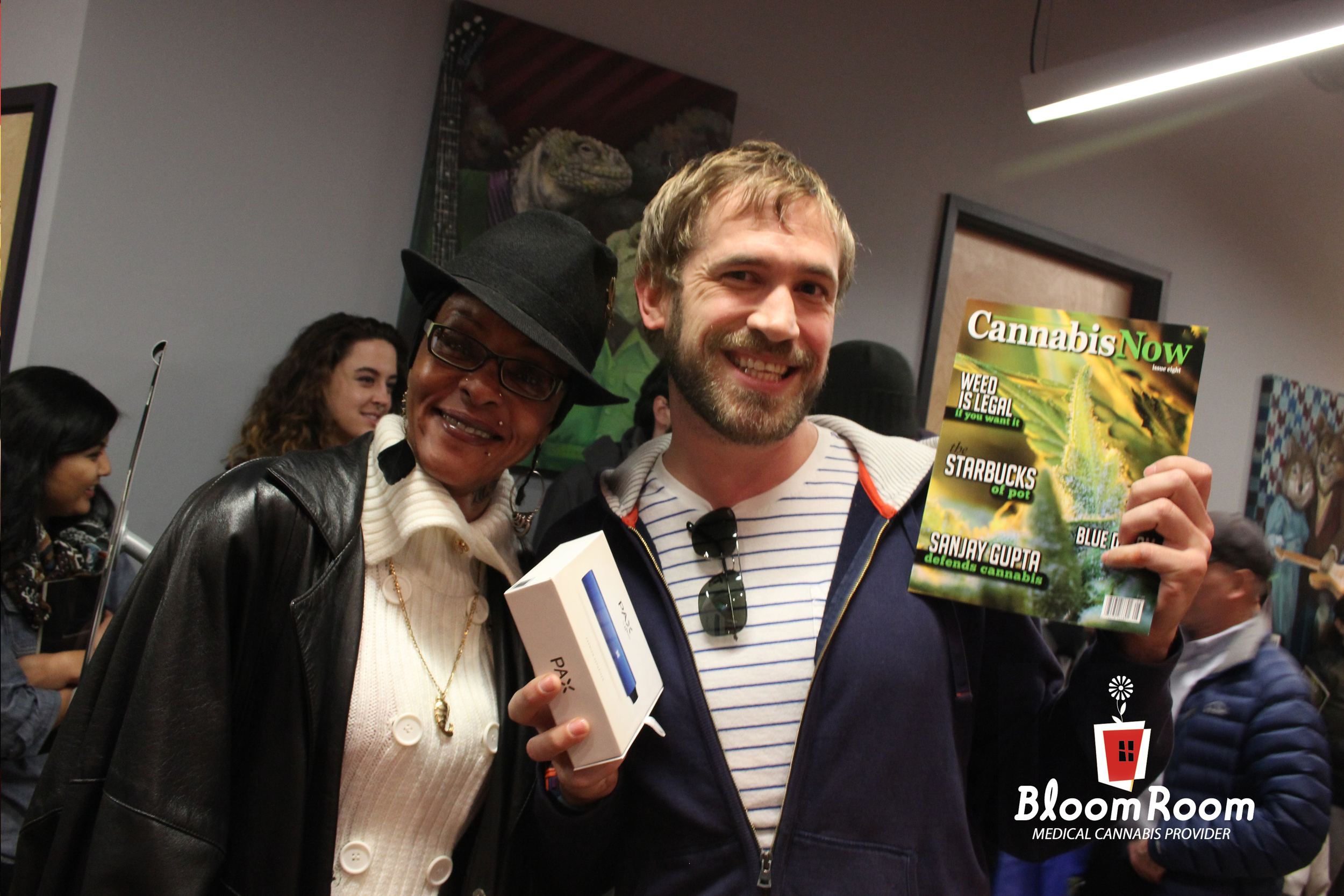 Thanks for showing up Cannabis Times Magazine! Hope you enjoyed our Pax Giveaway!