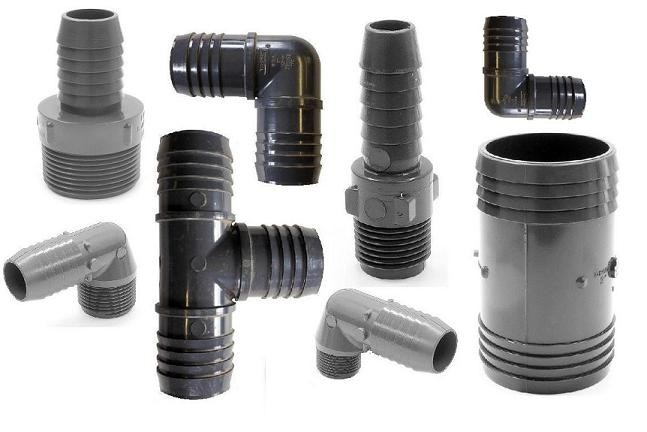 PLASTIC WELL PIPE FITTINGS