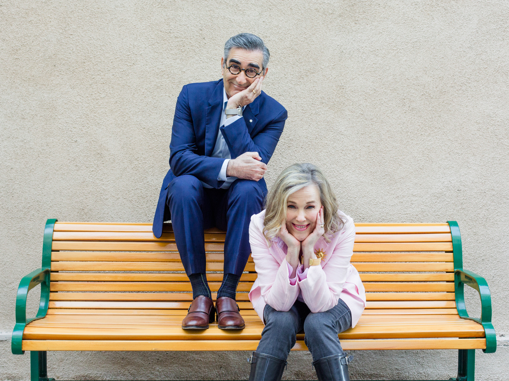 Catherine O'Hara and Eugene Levy, Actors