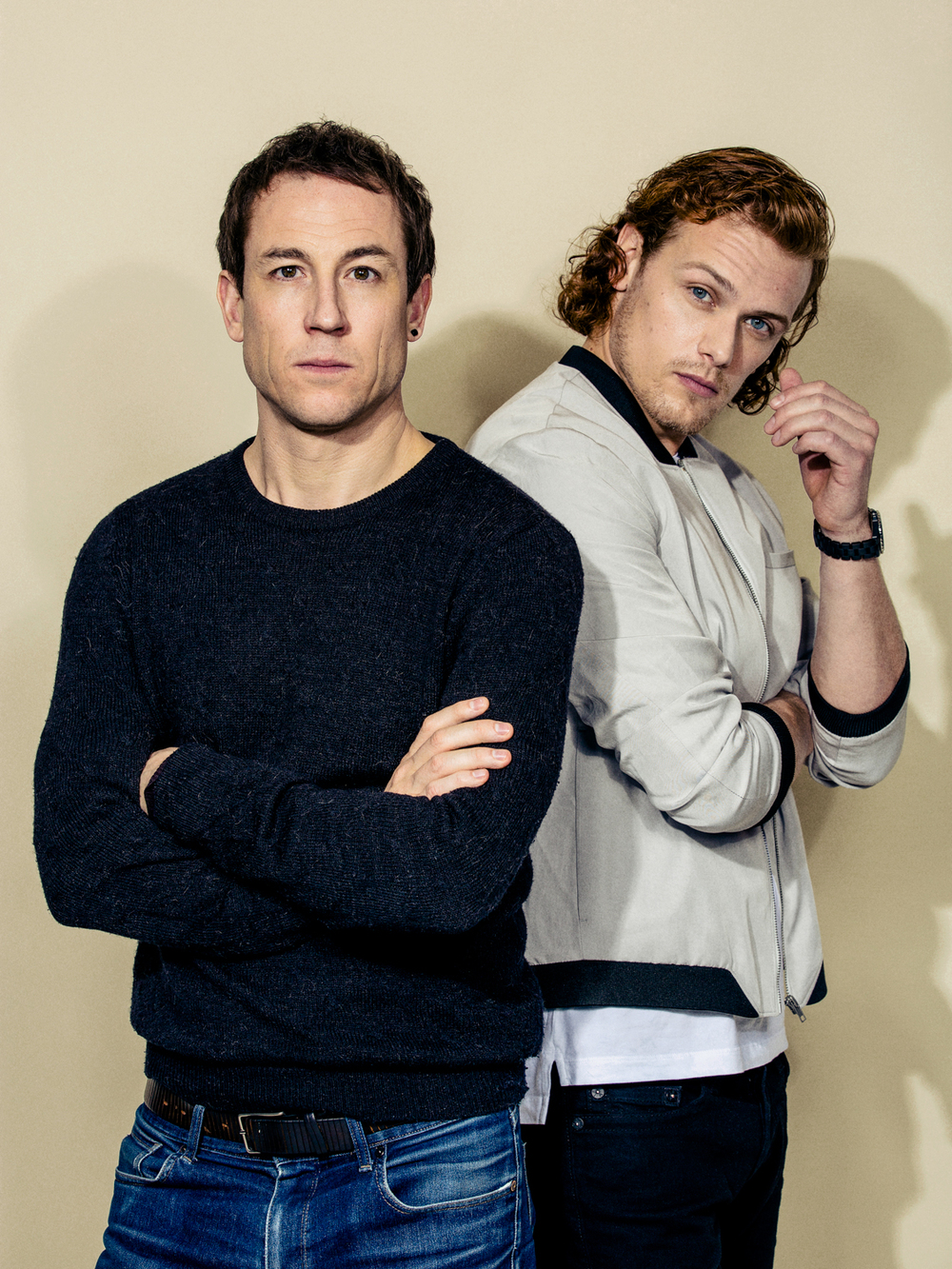 Tobias Menzies and Sam Heughan: Actors