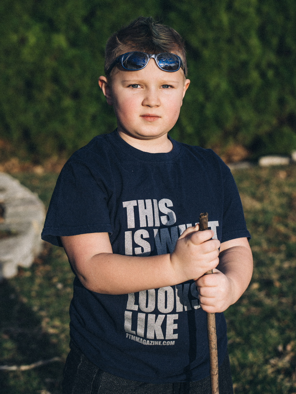 Jake, 8, transgender boy, central, Illinois
