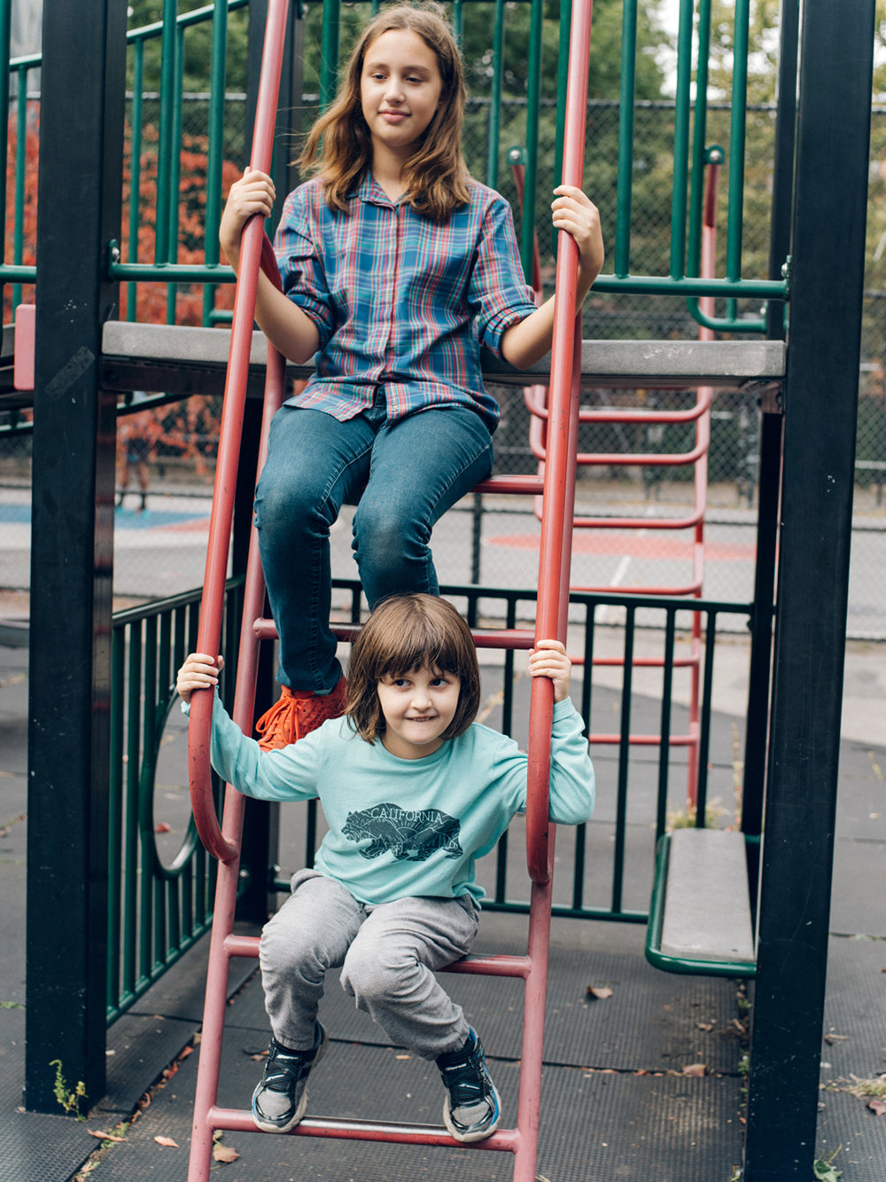 """Sean"",5, Transgender boy and his sister, NYC"