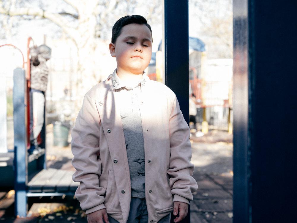 Noah, 8, transgnder boy, Queens NY