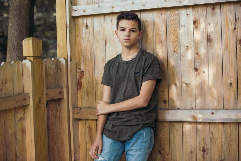 Eli, 13, Transgender boy, Bergen, NJ.
