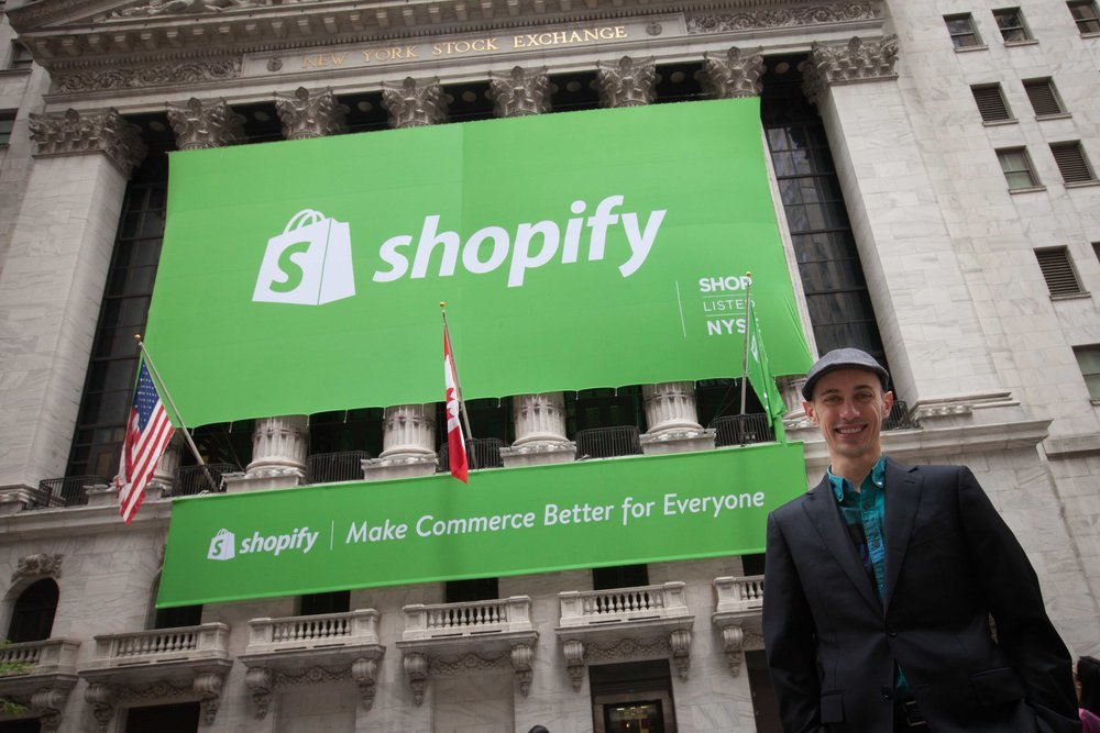 Shopify CEO (and apparently every tech giant's best friend)Tobi Lutke. Photo provided.