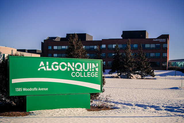 Photo of Algonquin College by Michael Nugent.