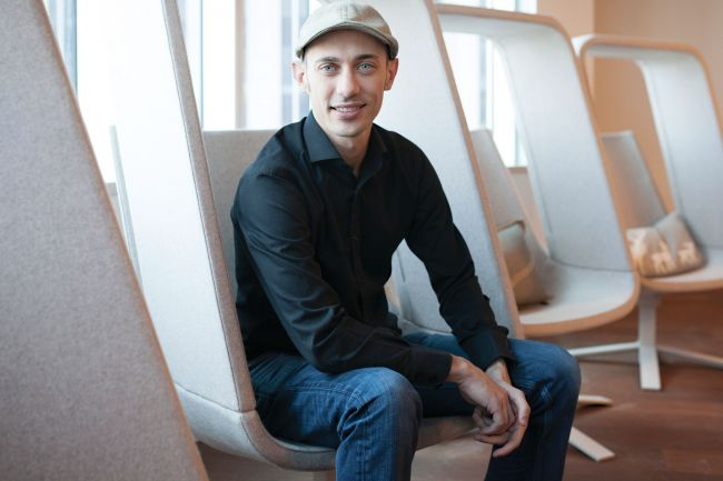 Shopify CEO Tobi Lütke. Photo by Cole Burston.
