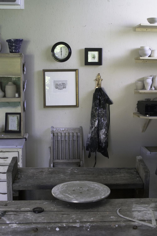 Studio Wall - D Pottery