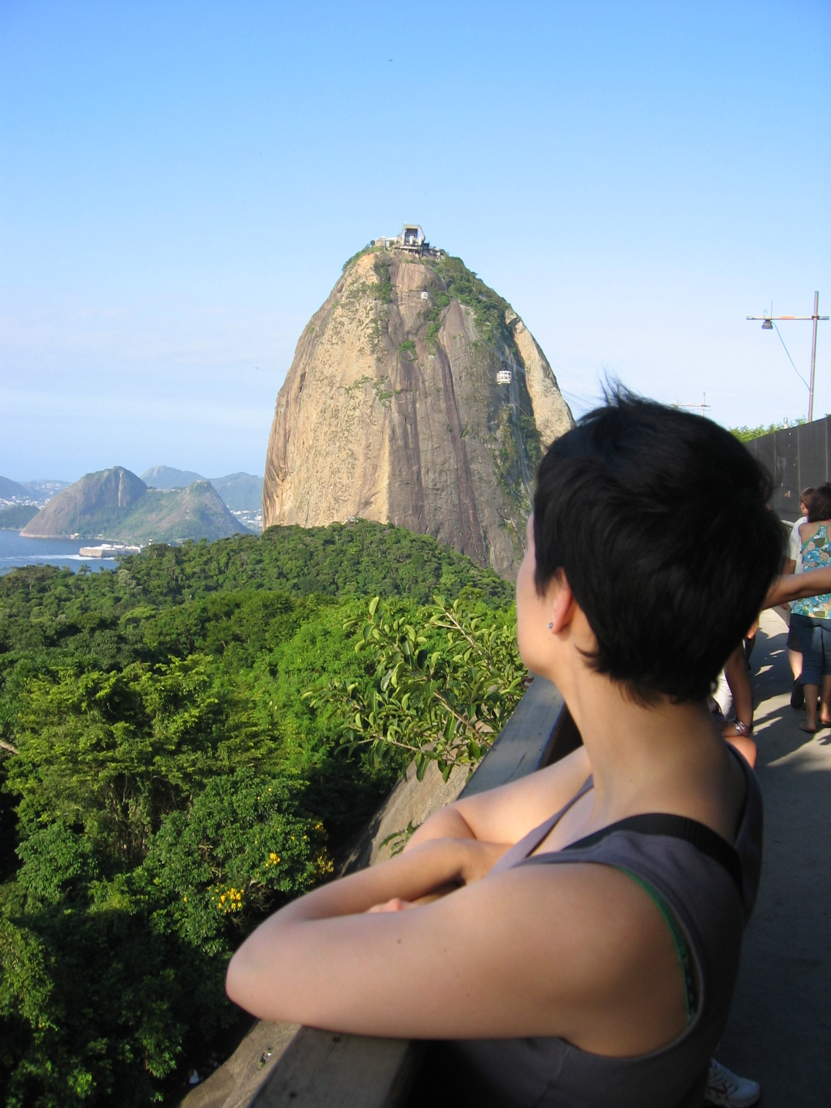 Sugarloaf Mountain, in Rio de Janeiro. Impossible climb? It's just a matter of perspective.
