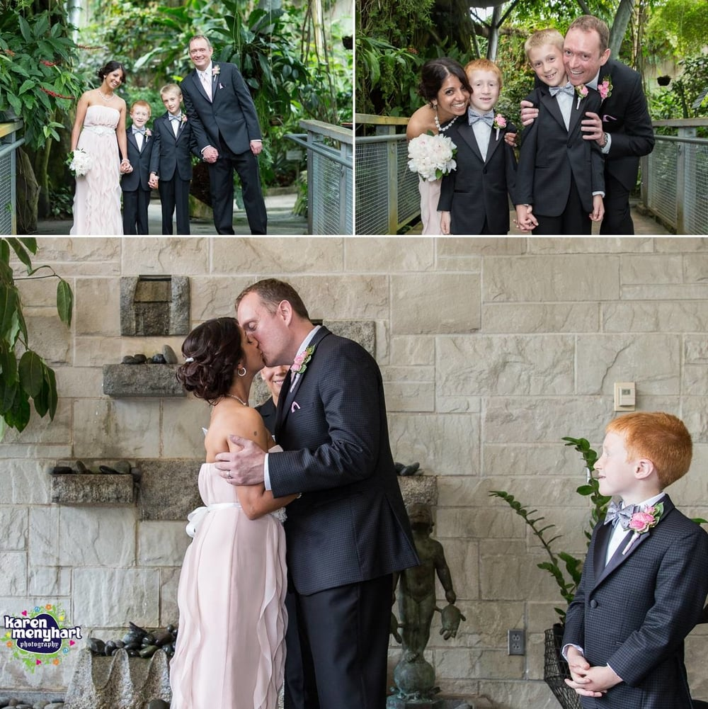 karen menyhart weddings, cleveland botanical gardens