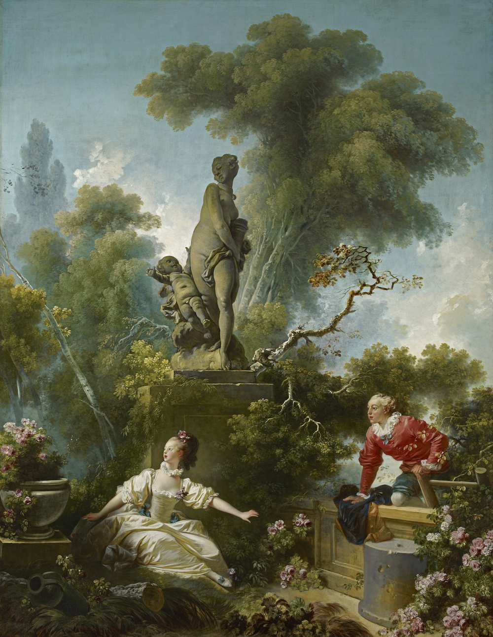 "Jean-Honoré Fragonard, ""The Secret Meeting"" 1771, Frick Collection"